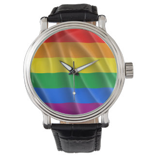 GAY PRIDE FLAG WAVY DESIGN -.png Watches