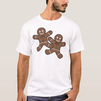 Gay Pride Gingerbread Couple T-Shirt