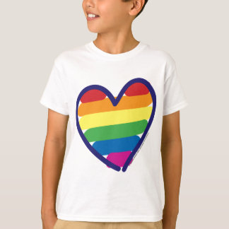 GAY-PRIDE-HEART-In-catneato T-Shirt