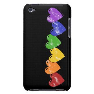 Gay Pride Hearts iPod Case
