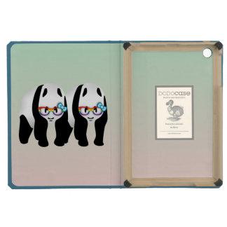 Gay Pride Hipster Pandas iPad Mini Retina Cases