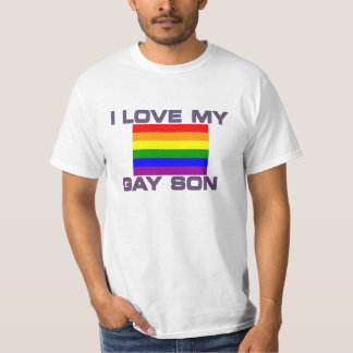 Gay Pride I Love My Gay Son T-Shirt
