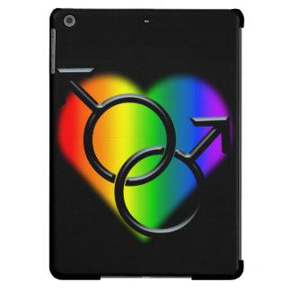 Gay Pride iPad Case Men's Gay Pride Tablet Cases Cover For iPad Air