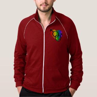 Gay Pride Jacket Same-Sex Love Sports Jacket