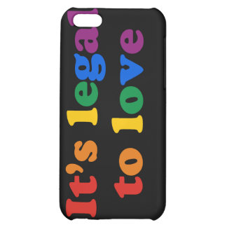 GAY PRIDE LEGAL LOVE COVER FOR iPhone 5C