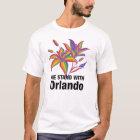 Gay Pride LGBT flag stargazer flower T-Shirt