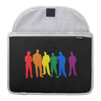 GAY PRIDE MALE COLORS MacBook PRO SLEEVES