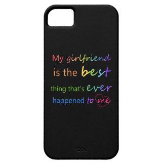 """Gay Pride - """"My girlfriend is"""" iPhone 5 Case"""