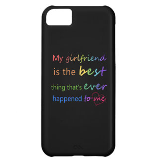 "Gay Pride - ""My girlfriend is"" iPhone 5C Case"