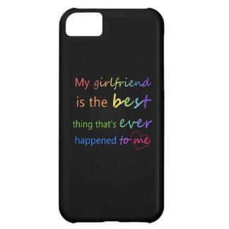 """Gay Pride - """"My girlfriend is"""" iPhone 5C Case"""