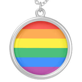 GAY PRIDE PERSONALIZED NECKLACE