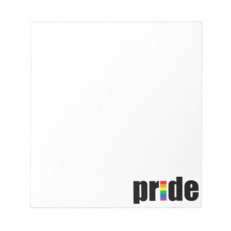 Gay Pride Notepad