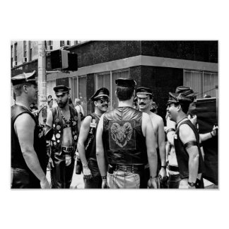 Gay Pride NYC 1989 Poster