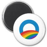Gay Pride Obama Magnet