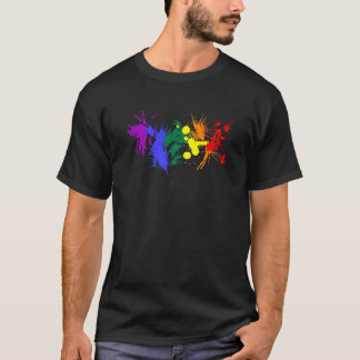 Gay Pride Paint T-Shirt