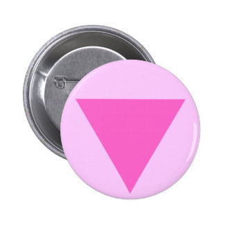 Gay Pride Pink Triangle Buttons