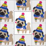 Gay Pride Pug - Funny Hat Fabric