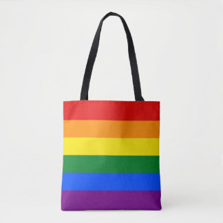 Gay Pride Rainbow Flag LGBT Tote Bag