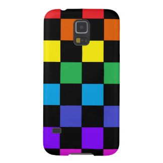Gay Pride Rainbow Gifts - Rainbow Chessboard Galaxy S5 Cover