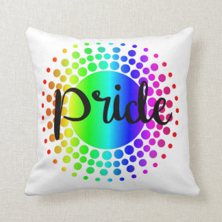 Gay Pride Rainbow Pillow