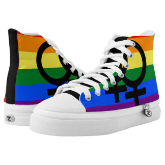 Gay Pride Shoes Printed Shoes