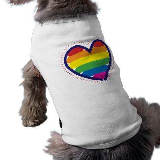Gay Pride Spirit Heart Shirt
