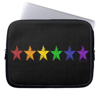 Gay Pride Stars 01 Laptop Sleeves