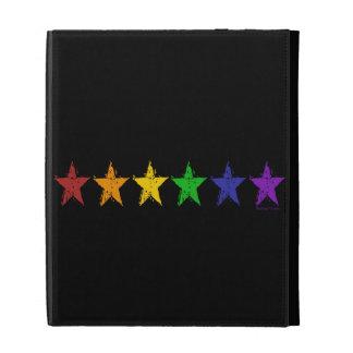 Gay Pride Stars iPad Case