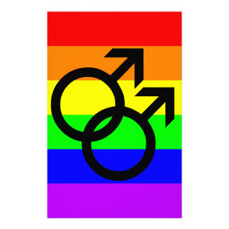 Gay Pride Stationery