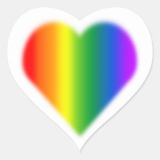 Gay Pride Stickers Same-Sex Rainbow Love Sticker