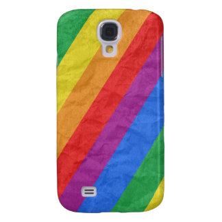 Gay Pride Stripes Galaxy S4 Case