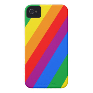 Gay Pride Stripes Blackberry Bold Case