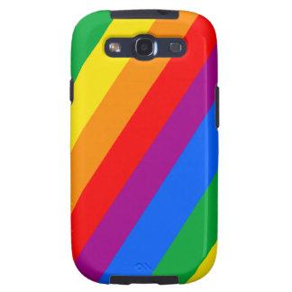 Gay Pride Stripes Samsung Galaxy S3 Case