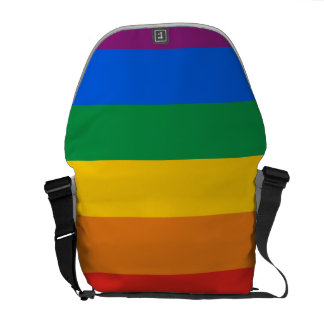 GAY PRIDE STRIPES DESIGN COURIER BAGS