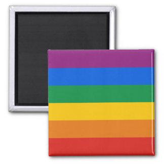 GAY PRIDE STRIPES DESIGN MAGNETS