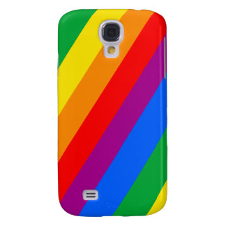 Gay Pride Stripes Galaxy S4 Case