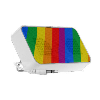 Gay Pride Stripes Speaker System