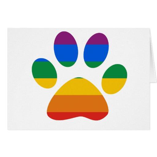 Gay Pride T-shirt Cards