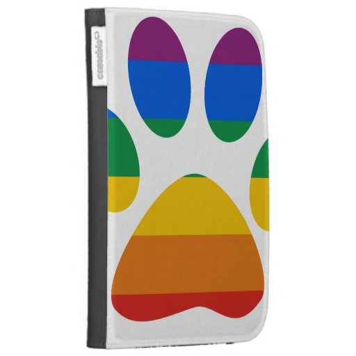 Gay Pride T-shirt Kindle Keyboard Cases