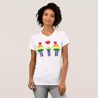Gay Pride T-Shirts For Women Rainbow