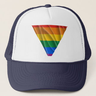 GAY PRIDE TRIANGLE 1 TRUCKER HAT
