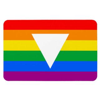 Gay Pride Triangle Design Rectangular Photo Magnet
