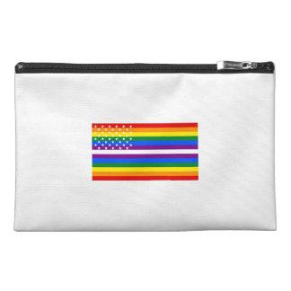 Gay Pride US Flag - 13 Colonies of Gay Pride Travel Accessories Bags