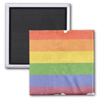 GAY PRIDE VINTAGE DESIGN FRIDGE MAGNET