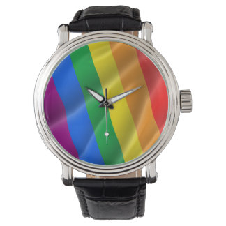 GAY PRIDE WAVY LINES DIAGONAL - 2014 PRIDE WATCHES