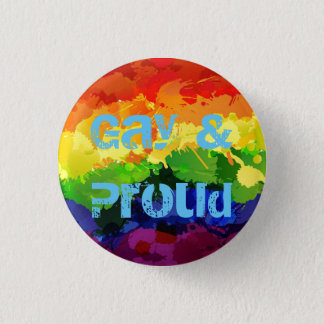 Gay & Proud LGBT Badge