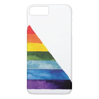 gay rainbow colors iPhone 7 plus case