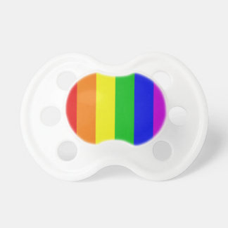 Gay Rainbow Baby Pacifier