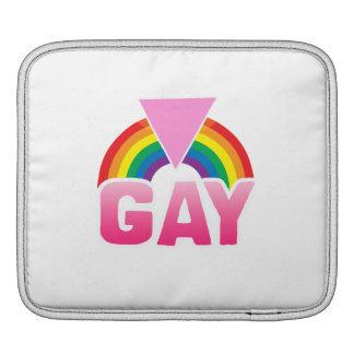 GAY RAINBOW FLAG iPad SLEEVE