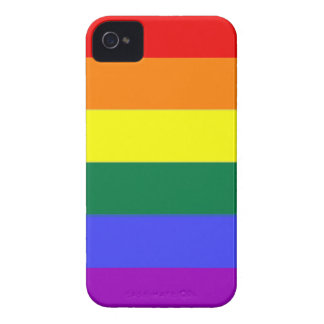 Gay Rainbow Pride iPhone 4 Case-Mate Cases
